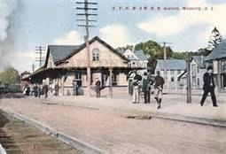 Westerly Rhode Island, Rail Station