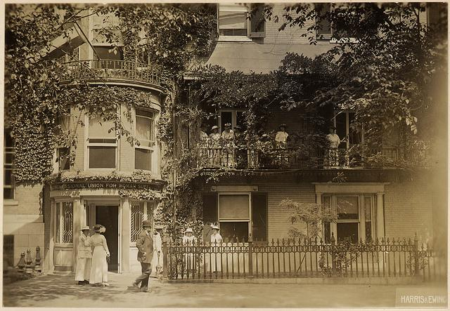 Woman's Suffrage Headquarters, 1917