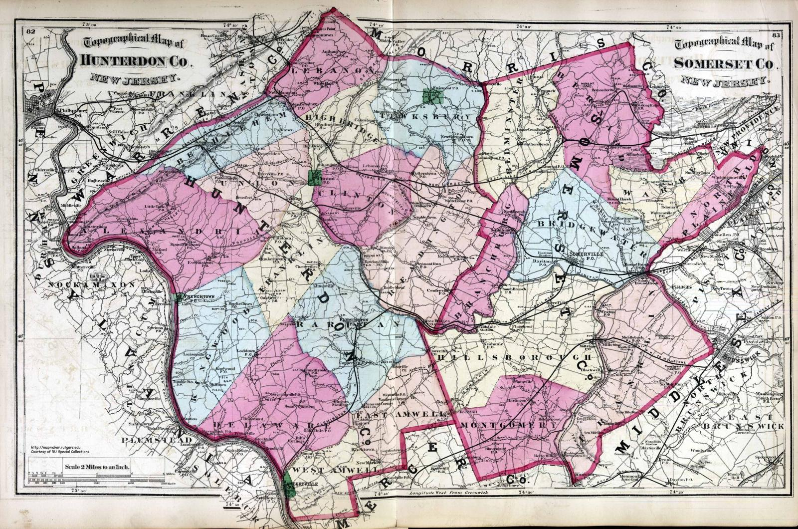 Hunterdon and Somerset 1872