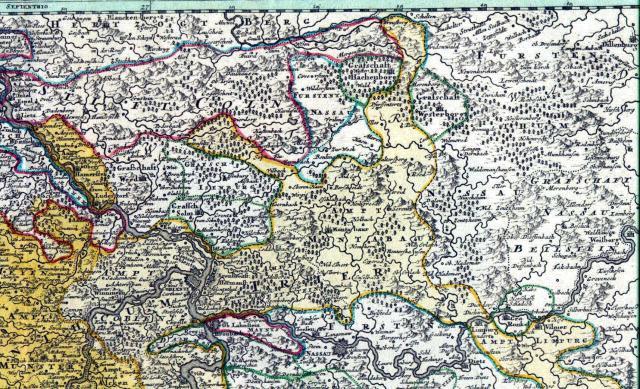 Westerwald 1720
