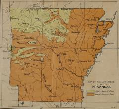 Arkansas Regional Map