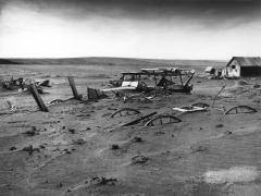 Dust Bowl, Dallas South Dakota 1936