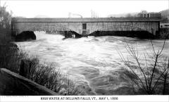 Connecticut River High Water in Bellows Falls Vermont.jpg