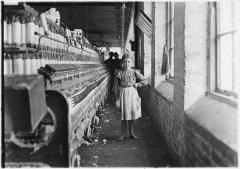 A little spinner, Georgia Cotton Mill 1909