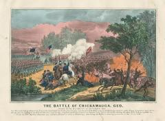 The Battle of Chickamauga, Georgia 1863