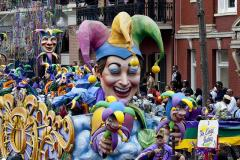 Mardi Gras Parade, New Orleans Louisiana