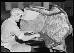 Upholstery Industry 1936