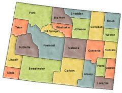 Wyoming County Map