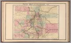 Early Colorado Map