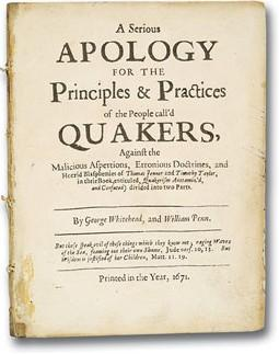 Quakers religion