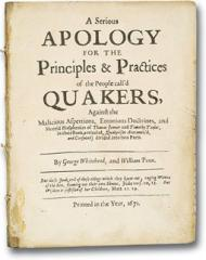 Principles and Practices of Quakers