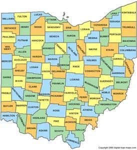 County Only Map