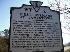 Jamestown Marker