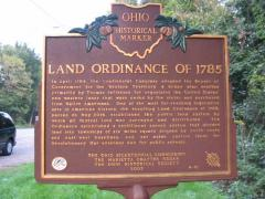 Land Ordinance Marker