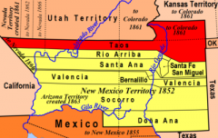 Early New Mexico Territory