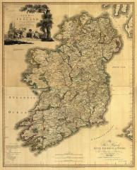 Pre-1900 Map of Ireland