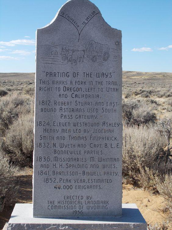Parting of Ways Marker