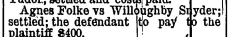 1892-12-15, Page 1, Hancock Courier_Willoughby Snyder case settled.jpeg
