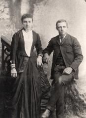 Anna Arp Wrage and William  - son of Hans and Abeline Stoltenberg Wrage.jpg