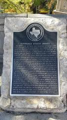 Commerce Bridge Marker, San Antonio