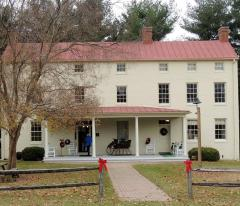 Christmas at Benson-Hammond House in Linthicum, Maryland